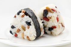Japanese Rice Ball Stock Photography