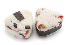 Japanese Rice Ball Stock Photo
