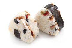 Japanese Rice Ball Royalty Free Stock Photos