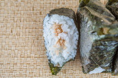 Japanese Rice Ball IX Stock Photo