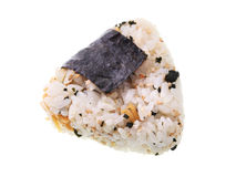 Japanese Rice Ball Stock Image