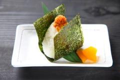 Japanese rice ball ONIGIRI Stock Photography