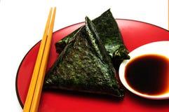 Japanese rice cakes Stock Photos