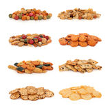 Japanese Rice Cracker Selection Royalty Free Stock Photos