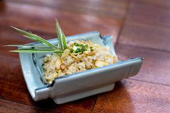 Japanese rice fried with garlic Royalty Free Stock Photos