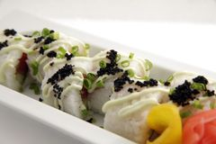 Japanese rice sushi Stock Photo