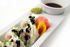 Japanese rice sushi Royalty Free Stock Photography