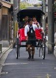 Japanese rickshaw Royalty Free Stock Image