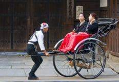 Japanese rickshaw Royalty Free Stock Images