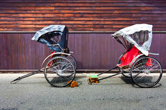 Japanese Rickshaw Royalty Free Stock Photos