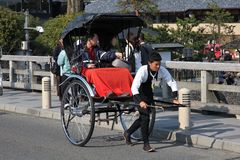 Japanese rickshaw Stock Photo