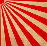 Japanese rising sun sunbeams Stock Images