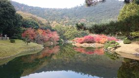 Japanese Ritsurin Park Stock Photography