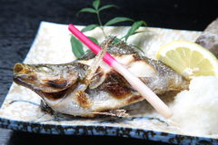 Japanese roasted fish Royalty Free Stock Image