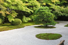 Japanese rock garden Stock Image