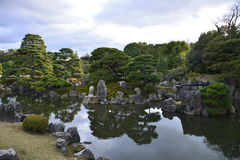 Japanese rock garden Royalty Free Stock Photo