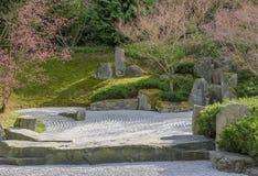 Japanese Rock garden of Shunmyo Masuno. Berlin, Germany Stock Image
