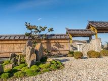 Japanese rock garden Royalty Free Stock Photos