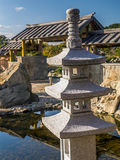 Japanese rock garden Stock Photos