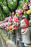 Japanese rock statue Royalty Free Stock Photography