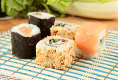 Japanese roll Stock Image