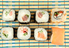 Japanese roll Stock Photography