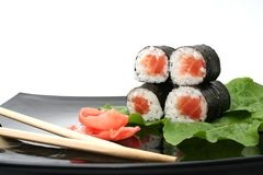 A Japanese roll Stock Image
