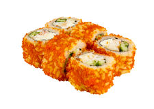 Japanese roll isolated Stock Image