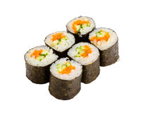 Japanese roll isolated Stock Photo