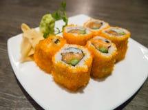 Japanese roll sushi. Stock Image