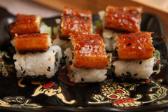 Japanese rolls Stock Photography