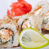 Japanese rolls royalty free stock images