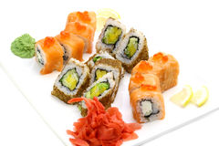 Japanese rolls Stock Photo