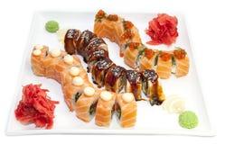Japanese rolls Stock Photography