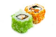 Japanese rolls ( California ) Stock Image