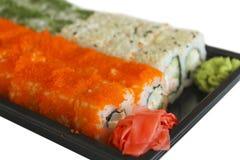 Japanese rolls Stock Image