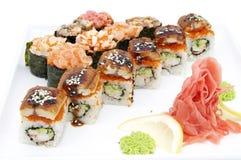 Japanese rolls Royalty Free Stock Photo