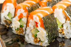 Japanese rolls Royalty Free Stock Image