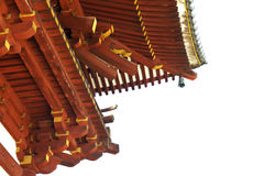 Japanese roof stock images