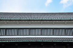 The Japanese roof Stock Image