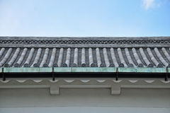 The Japanese roof Stock Photo