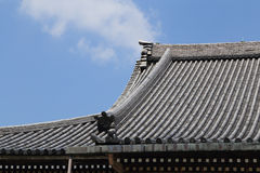 Japanese roof style Royalty Free Stock Photo