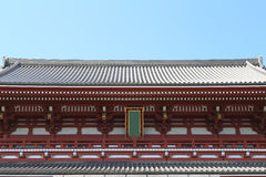Japanese roof style Royalty Free Stock Photography