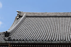 Japanese roof style Royalty Free Stock Images