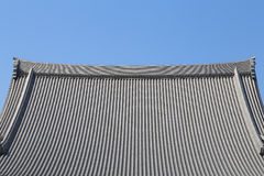 Japanese roof style Stock Image