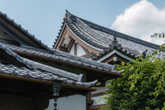 Japanese roof style Stock Photos