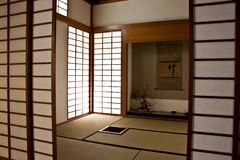 Japanese Room Royalty Free Stock Photography