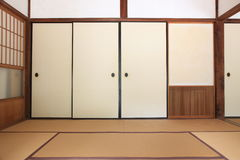 Japanese Room Stock Photo