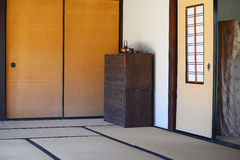 Japanese room decoration. Japanese old style room decoration stock photos