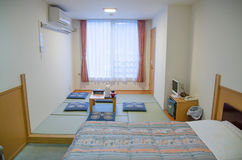The japanese room,tatami Stock Photo